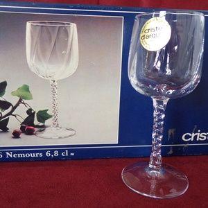 Cristal d'arques Liquor Glasses Set of 6 HG1347